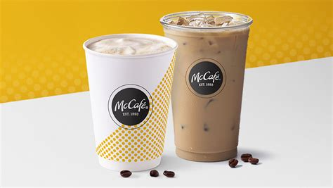 For example, a small iced coffee from mcdonalds is only $1.99. caffeine in mcdonalds iced coffee