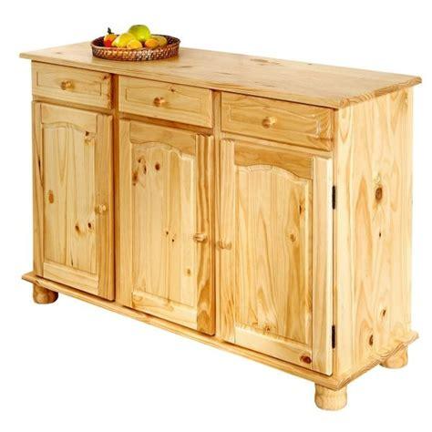 meuble de cuisine en pin buffet de cuisine en pin pas cher