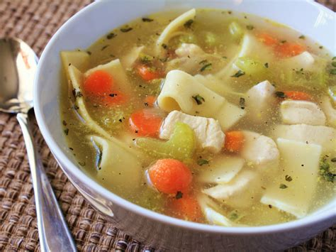 soup recipes with chicken quick and easy chicken noodle soup recipe dishmaps
