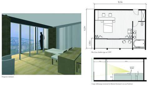 plan chambre hotel chambre tour