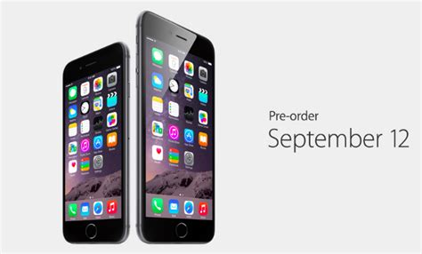 iphone pre order iphone 6 iphone 6 plus price and availability iphoneheat