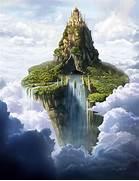 castle in the sky mount olympus deity z  Floating House In The Sky
