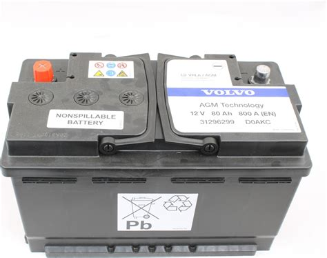 Volvo S80 Battery by Genuine Battery Parts 31296299