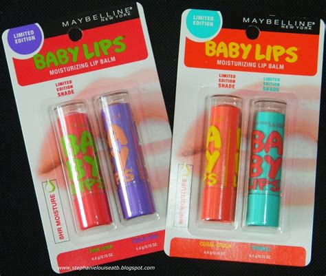 New Limited Edition Maybelline Baby Lips Swatches + Review