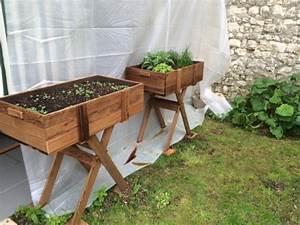 Jardiniere Sur Pied Plastique : roulebac bois bacs fleurs vos photos vos d coration ~ Dode.kayakingforconservation.com Idées de Décoration