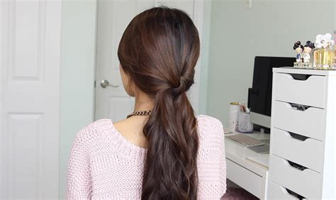 Running Late Ponytail Hairstyles · Bebexo Lifestyle & Beauty Blog Latest Hair Color Trend 2016 In India Long Half Up Wedding Hairstyles Best Curling Wand For Thick Frizzy Easy To Do Upstyles Curly 2 Black With Blonde Highlights Haircuts Bangs Short Trends Indian Gk 4 1 Iron Set