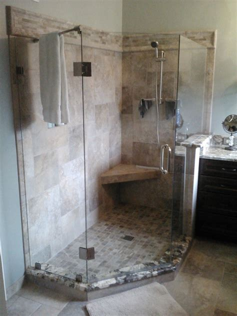 after stand up shower bathroom