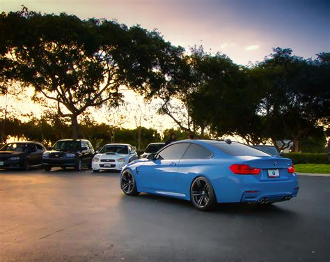 Yas Marina Blue BMW M4   Take at Carlsbad Cars and Coffee In   Flickr