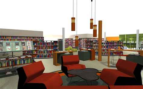 unique home decor bci modern library design process planning design and