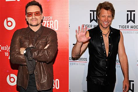 Bono Bon Jovi Gene Simmons More Nominated For Big