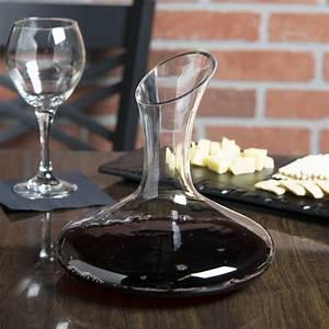 26, 5, Oz, Glass, Wine, Decanter