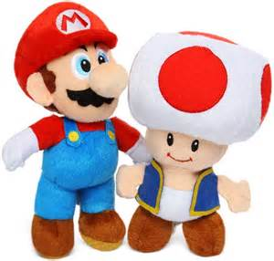 Super Mario Toad Plush Toys