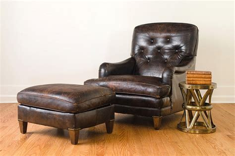 leather club chair and ottoman leather club chair ottoman homestead seattle