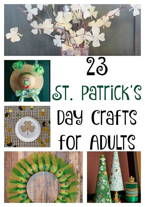 day crafts for adults 1000 images about st patrick s day crafts decor on pinterest st patrick s day topiaries
