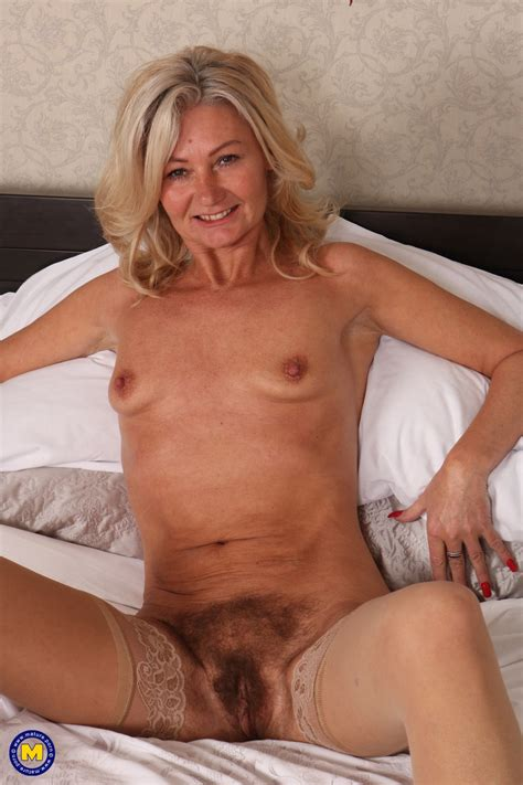 Older British Housewife Undresses To Fondle Her All