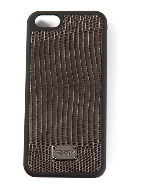 iphone 5s cases for guys dolce gabbana iphone 5s in gray for lyst