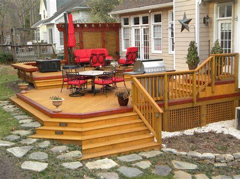 Tsw Deck Builder by Multi Level Deck Designs Floating Deck Designs Multi Level