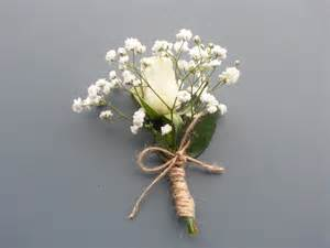 fleur blanche mariage mariage boutonnières blanche akito et gypsophile fleur mariage and roses