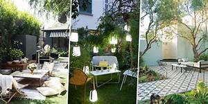 Petit jardin 5 amenagements reperes sur pinterest for Deco cuisine pour salon de jardin