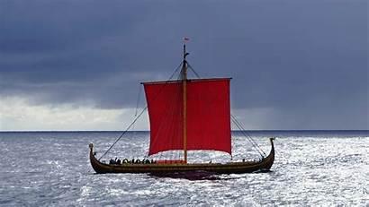 Viking Ship Draken Sailing Wallpapers Harald Largest