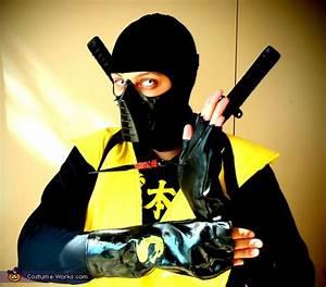Mortal Kombat Scorpion Costume For Kids