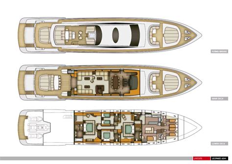 The Leopard 43m Yacht Interior Layout