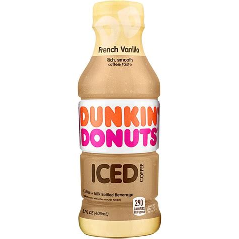 America s iced coffee is now bottled and ready to go. Dunkin' Donuts® French Vanilla Iced Coffee | Dunkin donuts ...