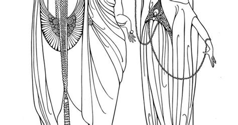 erte fashions coloring book templates pinterest