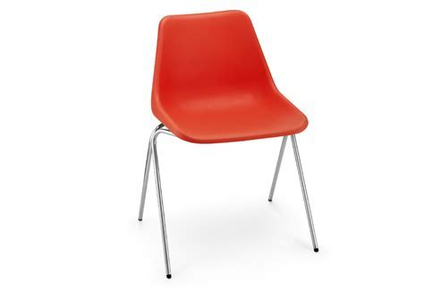 Polypropylene side chair designed by Robin Day