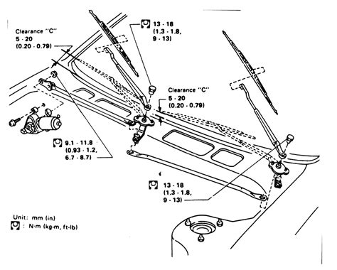 Ford Wiper Linkage Diagram washer motor wiring diagram impremedia net