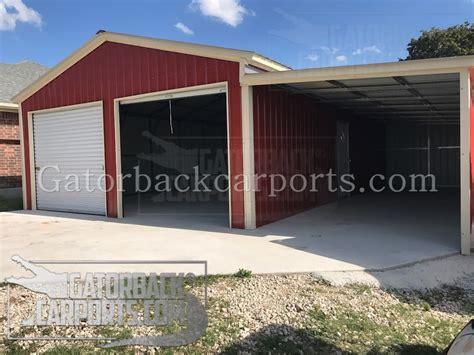 lean  carports lean  garages gatorback carports