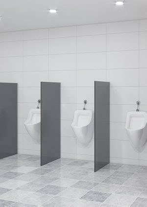 urinal privacy screen wall mounted tpi commercial