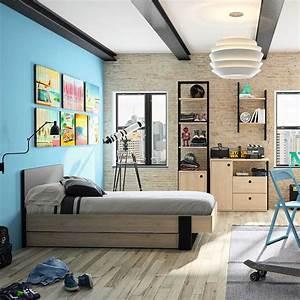 Chambre Ado Garçon : d coration chambre ado gar on galerie avec fille ~ Melissatoandfro.com Idées de Décoration