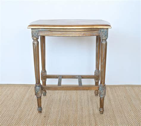 wooden gold finish table ornate legs xxcm lemon