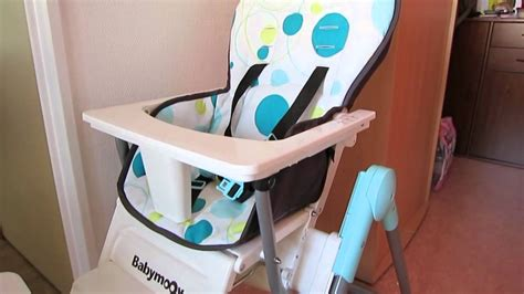 chaise haute inclinable bébé chaise haute babymoov slim highchair baby