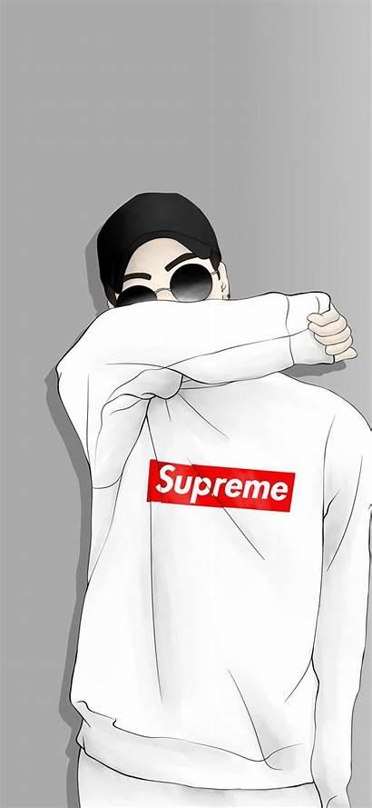 Supreme Wallpapers Cool Iphone Boys Anime Cartoon