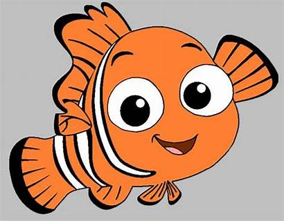 Disney Nemo Finding Clip Characters Coloring Pages