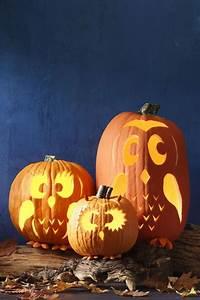 20, Easy, Pumpkin, Carving, Ideas, For, Halloween, 2018
