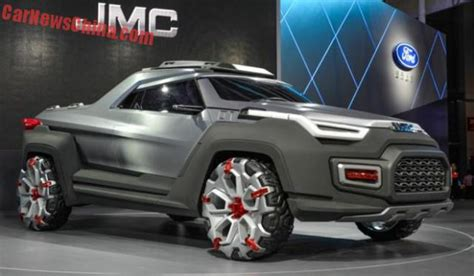 futuristic yuhu concept pickup truck truck reviews