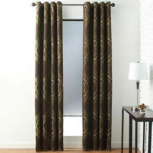 studio curtains drapes jcpenney studio equinox grommet top block out lining panel