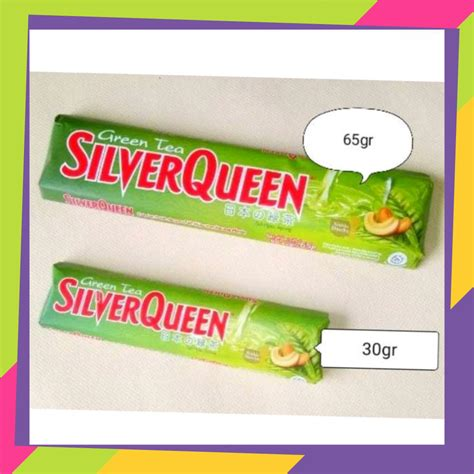 product silverqueen green tea gr istana coklat