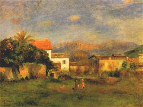 View Of Cagnes C1900 Pierre Auguste Renoir