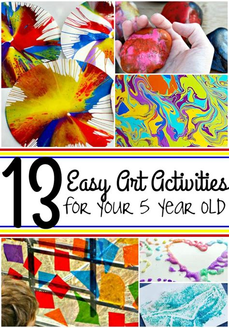 easy art activities    year  page