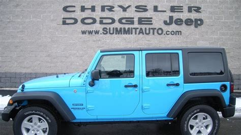 chief jeep color sold 7j150 2017 jeep wrangler unlimited 4x4 chief blue