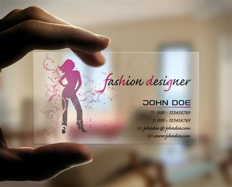 fashion business card templates  word psd