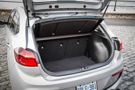 Hyundai Accent Trunk Space by Drive 2018 Hyundai Accent Canadian Auto Review