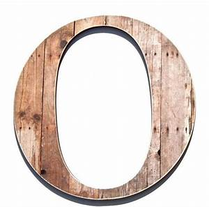 rustic letter o wood grain print chic wall decor With wooden letter o