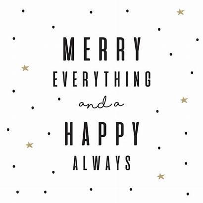 Kerst Quotes Happy Kaart Merry Vierkant Xmas