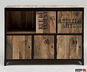 Möbel Industrie Look : industrie look m bel industrial massivholz esstisch industrie look einrichten m bel im ~ Sanjose-hotels-ca.com Haus und Dekorationen