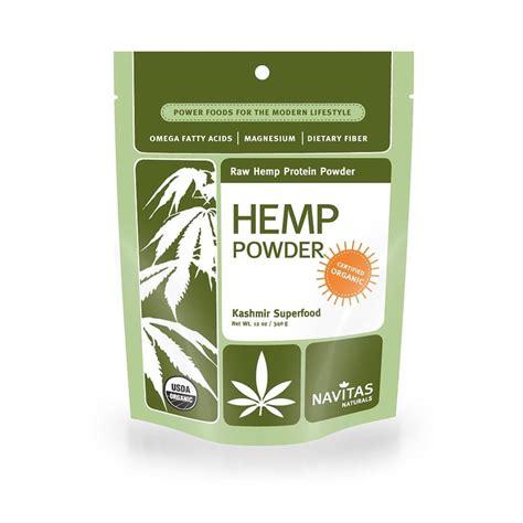 Navitas Naturals Organic Hemp Protein Powder | Plant-Based